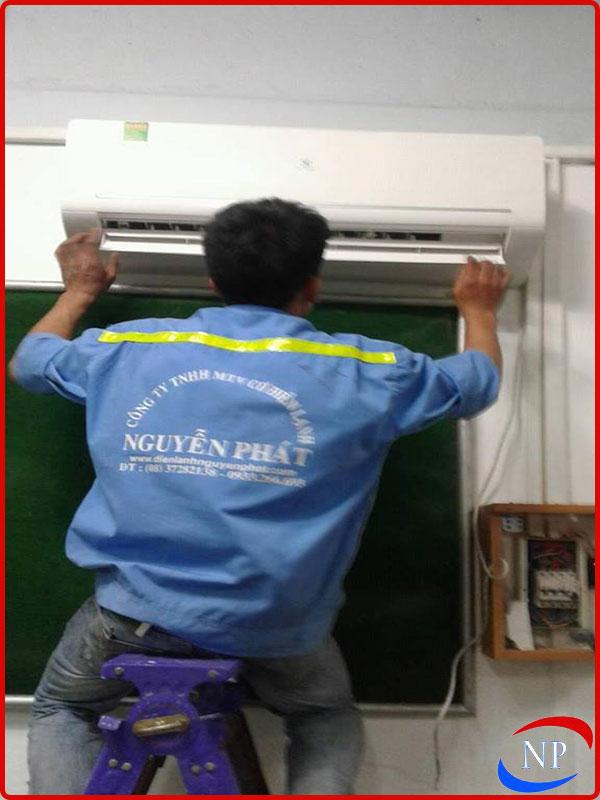 lắp máy lạnh tại bình dương