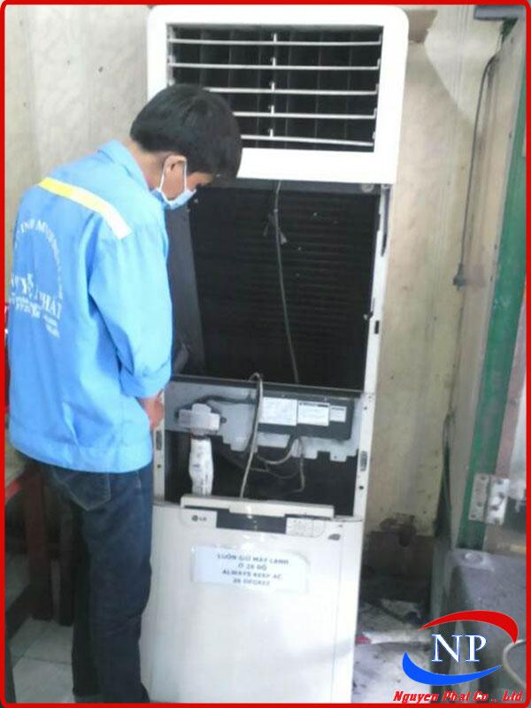 Sửa máy lạnh tại KCN Sóng Thần Bình Dương