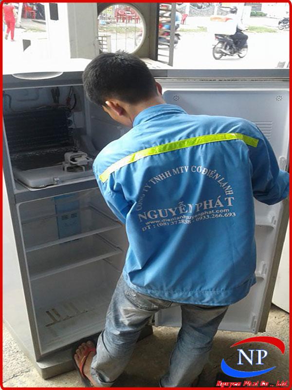 Sửa tủ lạnh tại Lái Thiêu Bình Dương
