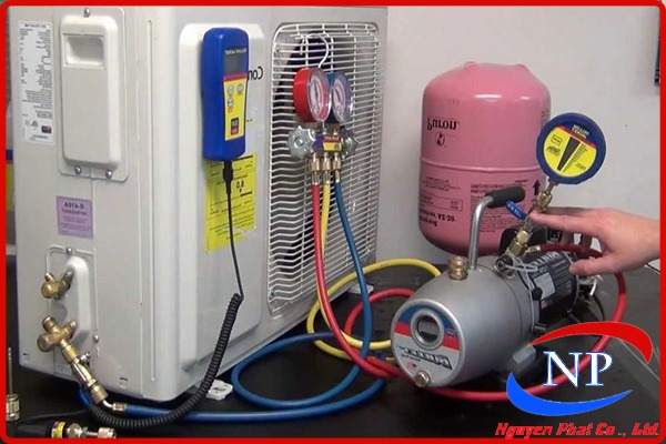 dấu hiệu hết gas máy lạnh