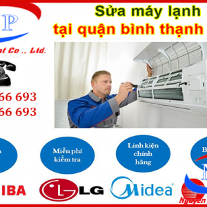 Sửa máy lạnh Quận Bình Thạnh